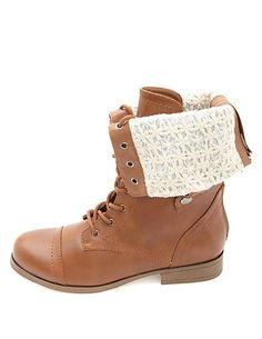 Rock & Candy Spraypaint Lace Combat Boot | DSW ($50) ❤ liked on ...