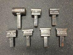 Blacksmith Anvil Tools Fuller Hardy