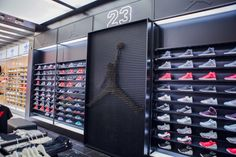 Retail Design Blog — Shoe Palace Store by Double Europe at Eastridge...