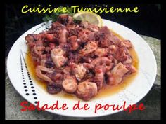 Cuisine Tunisienne - Salade de poulpe