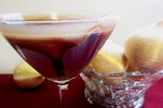 Chocolate Raspberry Martini  Ingredients:    1 ounce of Chambord    2 1/2 ounces of chocolate vodka    Splash of club soda    Ice    Directions:    Add the ingredients into a cocktail shaker and shake vigorously before straining the contents into the martini glass.