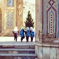 afghan schoolgirls near herat afghanistan by civilvision on Instagram