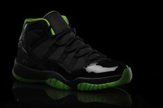 Air Jordan XI – XX8 Days of Flight Collection. Not quite sure about the green...