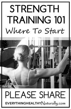 Strength Training 101: Where Do I Start?