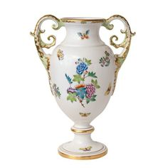 "Herrend ""Queen Victoria"" Double Handled Urn"