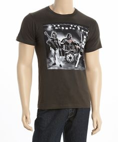 Look what I found on #zulily! Charcoal Band Practice Tee - Men #zulilyfinds