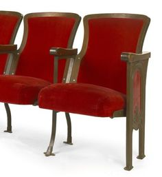 Theater Chairs Movie Seats Entryway Furniture by RhapsodyAttic