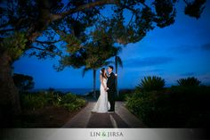 The Neighborhood Church and Terranea Resort Wedding | Newman and Carol