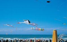 Kite Festival in Scheveningen, Netherlands