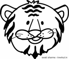 Tiger Coloring Pages-1