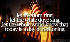 Independance Day by Martina McBride Country Music Lyrics, Country Songs, Girly Quotes, Cute Quotes, Martina Mcbride Independence Day, Independance Day, Spiritual Prayers, Let Freedom Ring, Country Quotes