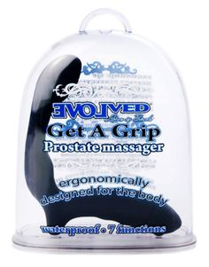 Save on Spot Massager Get A Grip Prostate Massager Black by Evolved Novelties and other Personal Massagers and Vibrators and Phthalate-Free remedies  at Lucky Vitamin. Shop online for Sexual Health, Evolved Novelties items, health and wellness products at discount prices.