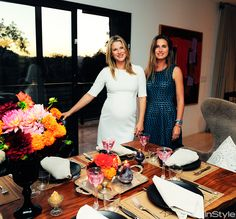 Ali Larter invited Lauren to help her host a classy ladies FEED Supper