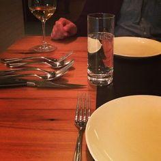 Great meal at Kensington Quarters. Great flatware! #findingfortessa