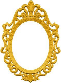 Princesa Disney Bella, Princesa Jasmine, Printable Frames, Printable Designs, Snow White Invitations, Snow White Mirror, Princess Mirror, Blue Texture Background, Snow White 7 Dwarfs