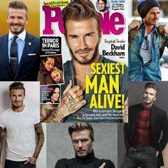 """Que tal emprestar algumas idéias de estilo do cara considerado o mais sexy do mundo? David Beckham foi sempre """"o"""" cara, mas a revista """"People"""" reforçou essa ideia nessa eleição. Como ele se beneficia imensamente do estilo incrível que desenvolveu ao longo dos anos, vamos se inspirar em seu jeito de se vestir? Leia a matéria no site."""