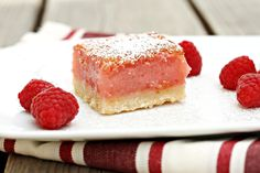 Let's Dish Recipes: RASPBERRY LEMONADE BARS