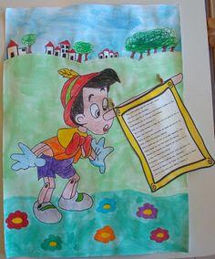 Η Νατα...Λίνα στο Νηπιαγωγείο: ΠΡΩΤΑΠΡΙΛΙΑ Fairy Tale Activities, Pinocchio, Fairy Tales, Kindergarten, Lunch Box, Drawings, Books, Crafts, Spring
