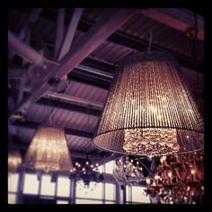 Chandelier With Metal Tube Shade Ceiling Light - lighting