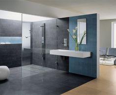 Photo Deco : Salle de bains  Gris    Visuels Salle De Bains