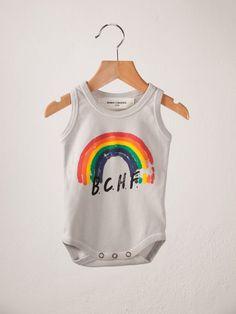 Sleeveless body rainbow