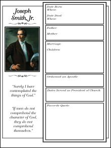 LDS Notebooking: Notebooking Pages Free