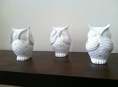 hear no evil, see no evil, speak no evil...So want these!!!