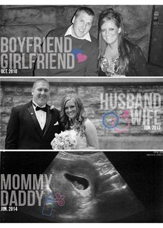 Cute Pregnancy Announcement or Picture for the house!