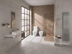 ta łazienka ładna, kolorystycznie, taka minimalistyczna, naturalna ale beznadziejna półeczka