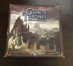 GAME OF THRONES 2nd Edition War Strategy Board Game by Fantasy Flight Games FFG