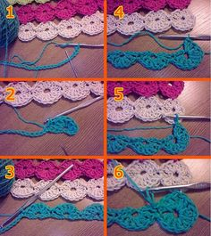 This pattern is so simple and cute! It would make a great scarf too!