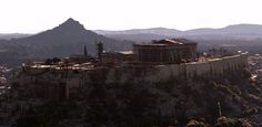 The amazing recreation of ancient #Athens, #Greece presented on Siggraph 2013 by #VFX company Whiskytree.