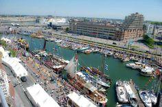Marine, Ostend, Belgium. Yachthaven van Oostende