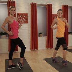 LOVED THIS ONE!!!  No Running Required in This 10-Minute Cardio Sweat Session