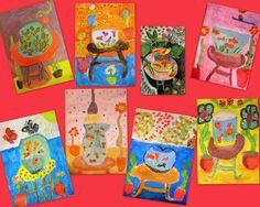 Tekenmaar kinderen: schilderen geïnspireerd door Matisse