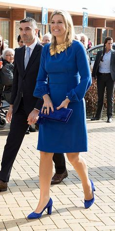 Princess Mary, Queen Letizia, Queen Maxima and Princess Victoria: Gallery of the week's best royal style Glam Dresses, Dress Outfits, Casual Dresses, Dresses For Work, Fashion Outfits, Womens Fashion, Queen Maxima, Queen Letizia, Style Royal