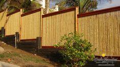 5 Masterful Tips: Simple Backyard Garden Fire Pits large backyard garden how to build.Large Backyard Garden How To Build. Patio Fence, Bamboo Fence, Front Fence, Diy Fence, Diy Pergola, Pergola Ideas, Patio Ideas, Pergola Shade, Pergola Roof