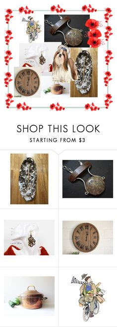 """""""Poppies...We Remember...Never Forget!"""" by cozeequilts ❤ liked on Polyvore featuring rustic"""