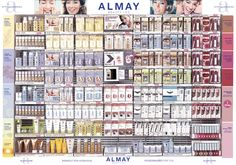 ALMAY packaging and display design by Shane Levine