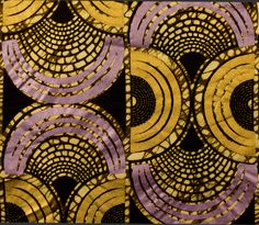 A batik fabric from Africa