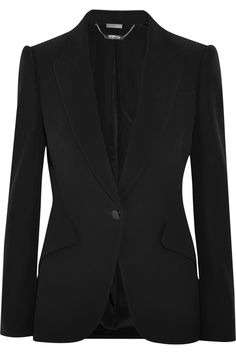Alexander McQueen(probably the perfect blazer. Time to start saving!)