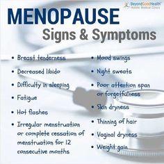 menopause signs and symptoms  visit us at  gomenopause.com  Via  google images  #menopauseproblems #menopausesymptoms #menopausemoms #menopausemom #menopauserelief #menopausemamma #menopausesupport #menopauseawareness #menopausehelp #menopausehealth #menopausemomma #overcomingmenopause #menopausematters #menopauseremedies #menopausemeadows