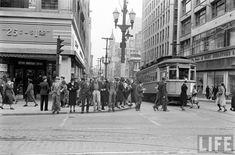 Old Photos: Kansas City 1938 Kansas City Downtown, Kansas City Missouri, Old Photos, Vintage Photos, Vintage Photographs, Urban Life, Historical Photos, City Photo, Street View
