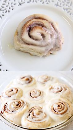 One-Hour Cinnamon Rolls - Super soft and delicious cinnamon rolls slathered with an amazing melt-in-your-mouth frosting. Just as yummy as the classic cinnamon roll recipe, but done in half the time! Quick Cinnamon Rolls, Cinnamon Roll Cookies, Pillsbury Cinnamon Roll Frosting Recipe, Yeast Cinnamon Roll Recipe, Frosting For Cinnamon Rolls, Pioneer Woman Cinnamon Rolls, Overnight Cinnamon Rolls, Cinnabon Cinnamon Rolls, Vegan Cinnamon Rolls