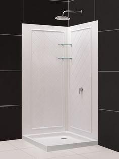 double threshold 32 x 48 shower base