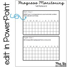 Mrs D's Corner: Progress Monitoring Made Quick and Easy