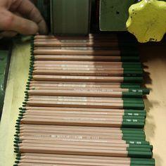 Pastelist Astrid Volquardsen visits Caran d'Ache, discusses manufacture of pastel pencils