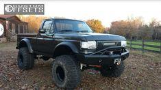 88 f150 | 97 1 1987 f 150 ford lifted 9 black rock type 8 997b black hella ...