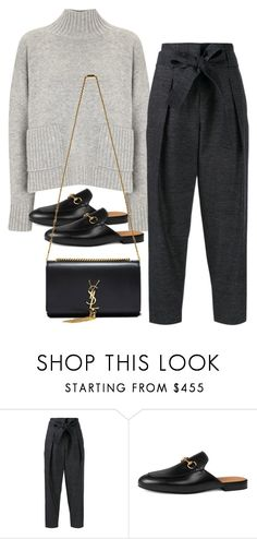 """Untitled #3329"" by bubbles-wardrobe ❤ liked on Polyvore featuring Frame, 3.1 Phillip Lim, Gucci and Yves Saint Laurent"