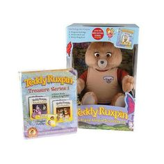 Teddy Ruxpin... another toy that my twin and I had... I actually really loved my Teddy Ruxpin.